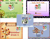 Number Talk - Kindergarten Bundle September - January