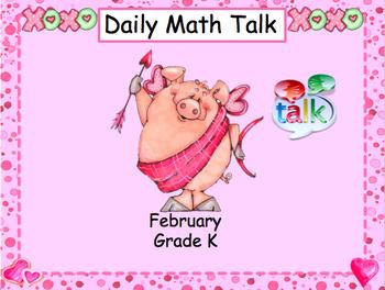 Number Talk - Kindergarten February