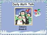 Number Talk - Kindergarten January