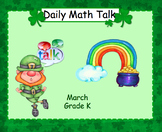 Number Talk - Kindergarten March