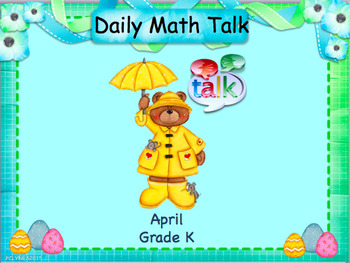 Number Talk - Kindergarten April