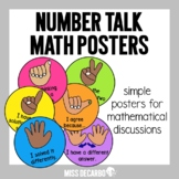 Number Talk Math Posters