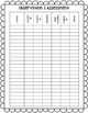 Number Talk Planning and Tracking