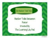 Number Talk Poster
