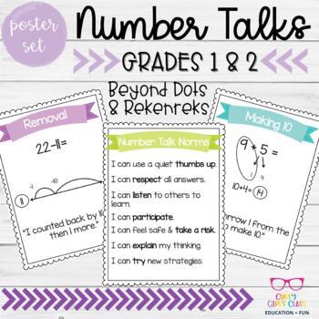 Number Talk Poster Set