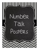 Number Talk Posters- FREE