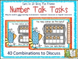 Number Talk: Using Ten Frames With Sums to 20