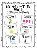 Number Talk Wall