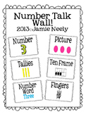 Number Talk Wall