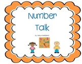 Number Talk (comparing numbers between 1 and 20)