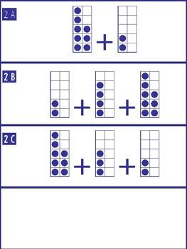 Number Talks 3-5 making tens (addition)