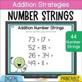 Number Talks - Addition Number Strings - 5th Grade