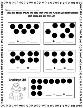 Number Talks: All about numbers 1-10 (Common Core Aligned)