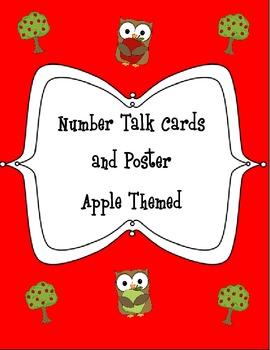 Number Talks Apples Theme