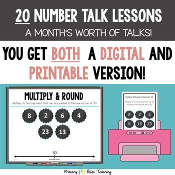 Third Grade Number Talks ~ Unit 8  (April)