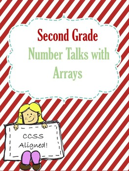 Number Talks Arrays (Up to 25)  Second Grade CCSS Aligned
