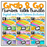 Number Talks BUNDLE Math Fluency & Number Sense Distance L