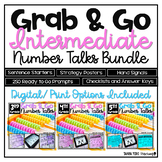 Number Talks BUNDLE YEARLONG Number Sense Program Grades 3-5