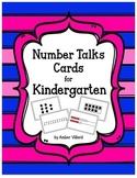 Number Talks Cards for Kindergarten