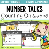 DIGITAL Number Talks for Counting On DISTANCE LEARNING