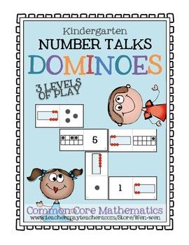 Number Talks DOMINOES! (Kinder/Grade 1 Edition)