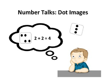 Number Talks Dot Image Cards Numbers 1-10