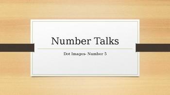 Number Talks: Dot Images - Number 5