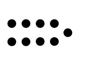 Number Talks: Dot Images - Number 9