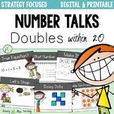 DIGITAL Number Talks for Doubles within 20 DISTANCE LEARNING