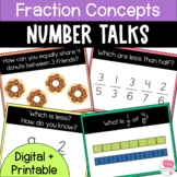Number Talks Fraction Concepts Upper Elementary