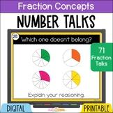 Number Talks Fraction Concepts Upper Elementary