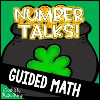 Number Talks Freebie: St. Patrick's Day Themed