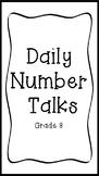YEARLONG Number Talks Grade 3
