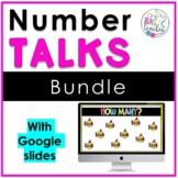 Number Talks Growing Bundle with Google Slides