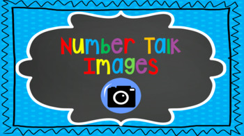 Number Talks Images (notice and wonder)