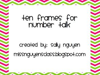 Number Talks Kindergarten