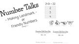 Number Talks: Making Landmark or Friendly Numbers ( NO PRE