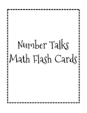 """Number Talks"" Math Flash Cards"