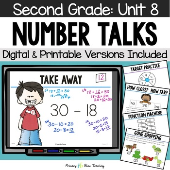 Second Grade Number Talks - Unit 8 (April)