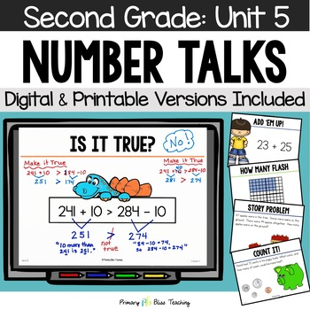 Second Grade Number Talks - Unit 5 (January)