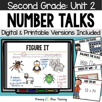 Number Talks / Math Talks October of Second Grade ~ Common