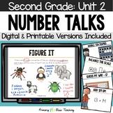 Second Grade Number Talks - Unit 2 (October)
