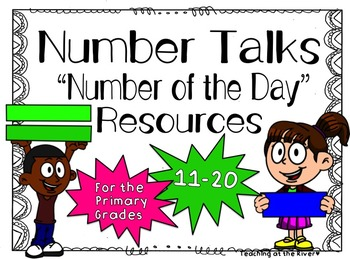 Number Talks -Number of the Day- Resources - 11-20 For Pri