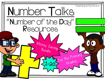 Number Talks -Number of the Day- Resources MONEY SAVING BUNDLE