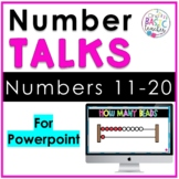 Number Talks Numbers 11-20 with Powerpoint