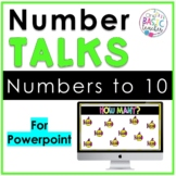 Number Talks Numbers to 10 for Powerpoint