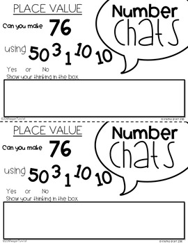 Number Chats Place Value