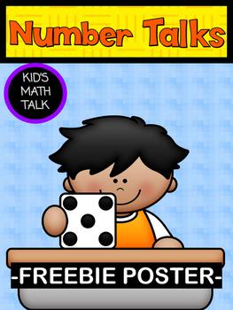 Number Talks Poster FREEBIE
