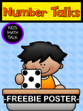 Number Talks Poster FREEBIE