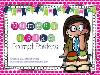 Number Talks Prompt Posters